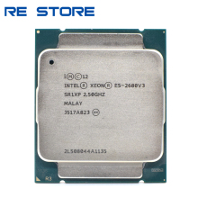 Processor Intel Xeon 30mb-Socket E5-2680v3 12-Core CPU Used SR1XP