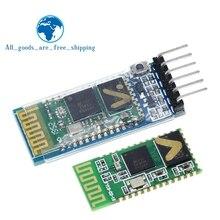 Tzt hc05 HC 05 master slave 6pin JY MCU anti reverso, módulo de passagem serial integrado de bluetooth, dai serial sem fio