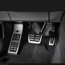 Für Audi A3 A4 B6 B7 B8 B9 A5 A6 C5 C6 C7 C8 A7 Q2 Q5 Q7 Accelerator Bremse fuß Rest Pedal Pad Platte Auto Waren Auto Zubehör