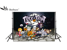 Beebuzz photo backdrop halloween cartoon decoration background picture