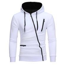 Осенняя мода, повседневные однотонные толстовки для мужчин/wo, мужская толстовка с капюшоном, пуловер на молнии, блузка размера плюс#0921