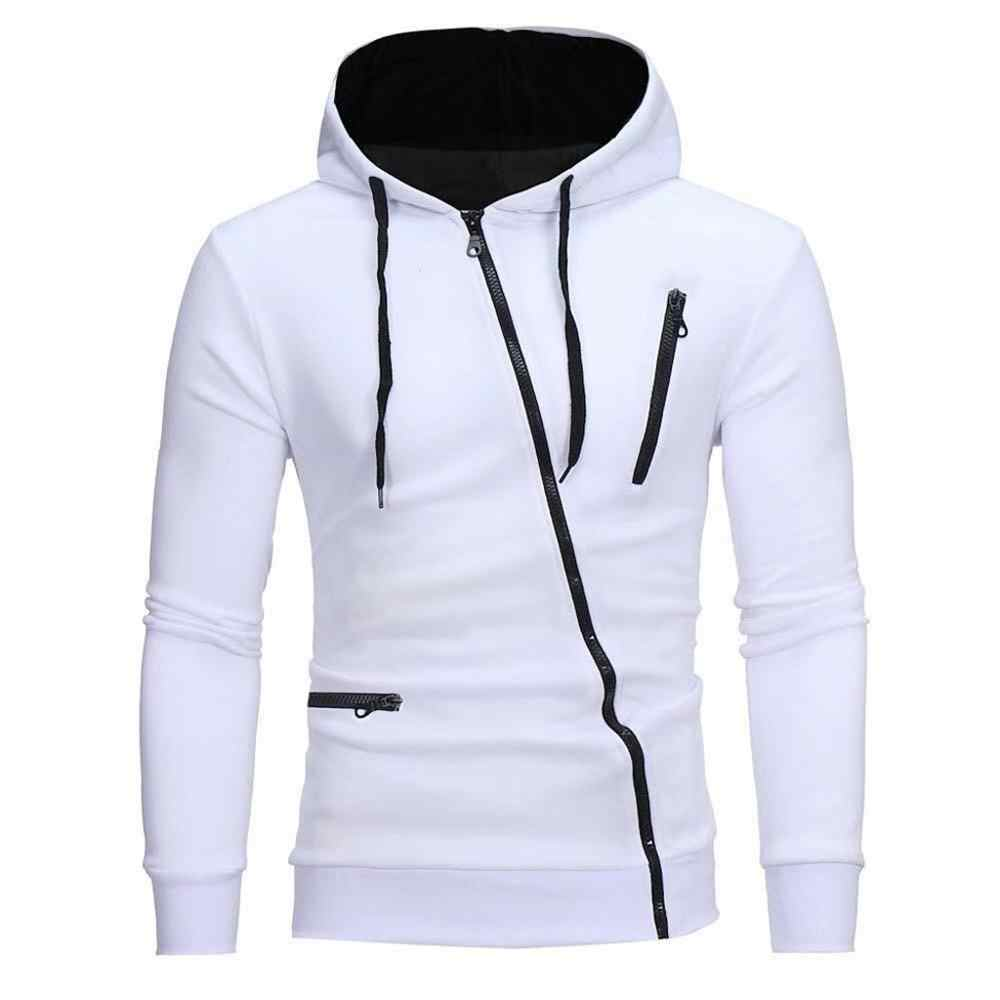 Herfst Fashion Casual Solid Hoodies Mannen/Vrouwen Polluver Sweatshirt Mannen Hooded Trui Rits Blouse Plus Size #0921