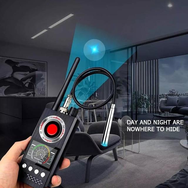 Multi-Function Anti Detector Bug Detector Signal Camera Detector BUG Anti Spy Detector RF Tracker GPS Locator Wireless Device 5