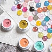 Yayoge Feste Creme Gel Polish Nail art Temperatur Veränderung Schnell Erweiterung Creme Ohne Papier Halter Feste Kristall Kleber 15ML