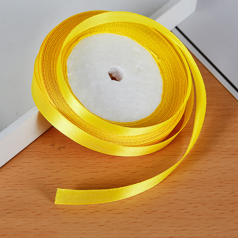 25 ярдов/рулон атласная лента Гро-Гро ленты для свадьбы Рождественская вечеринка украшения «сделай сам» бант ленты для поделок Упаковка для подарков - Цвет: 35