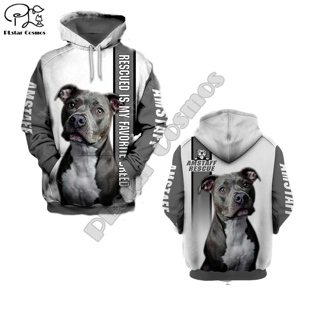 Unisex Mens Rescued Dogs 3d Print Hoodies Zipper Autumn Long Sleeve Sweatshirts Women Pullover Tracksuit Hood Spring Outwear