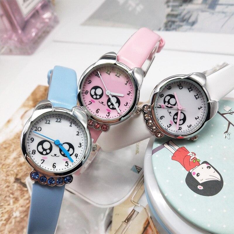 Children Watch  Cartoon  Girl's Quartz Watch  Primary School Students  Cute Cartoon  The Belt  Contracted  Kids Watches