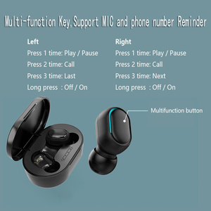 Image 5 - Sports A7S Mini Wireless TWS Earphones Bluetooth V5.0 Earbud with Mic Handsfree In Ear Headset for Ios Android Earphone 2019 New
