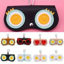 Bolso de anteojos a la moda, funda bonita para gafas de sol, funda protectora