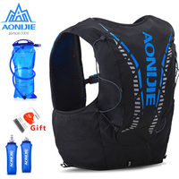 AONIJIE C962 12L Hydration Backpack Advanced Skin Pack Bag Vest Soft Water Bladder Flask professional running bag