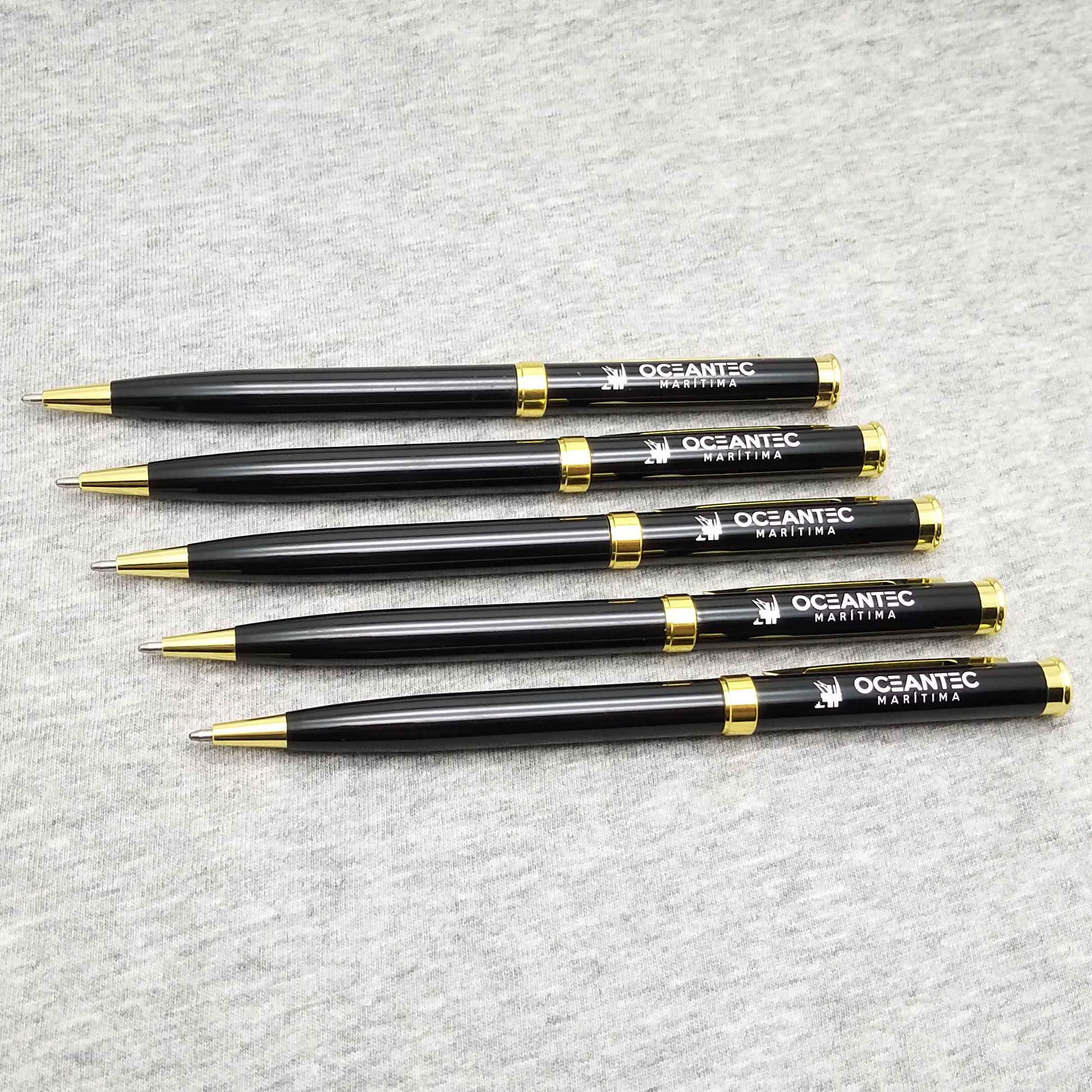 100pcs wedding souvenir pen metal rollerpen custom with your own logo text best company new year Anniversary gifts
