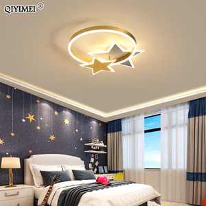 New Arrivals Gold Rings LED Ceiling Chandeliers For Living Room Study Room Bedroom Modern Led Lights Home Lighting Lamps QIYIMEI|Chandeliers|   -