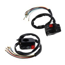 1pc 12V Motorcycle Handle Switch Universal Size Right/Left 22mm For SR400 ATVs G6KC left 22mm