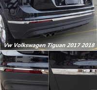 Samochód ze stali nierdzewnej tylne drzwi klapa tylna rama dolna bagażnika płyta wykończenia maski silnika pasuje do Vw Volkswagen Tiguan 2016 2017 2018