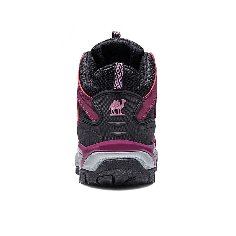 Image 3 - CAMEL/Новинка; женская обувь; высокие походные противоскользящие  дышащие ботинки для альпинизма; треккинговые ботинки; уличная спортивная  обувьПоходная обувь