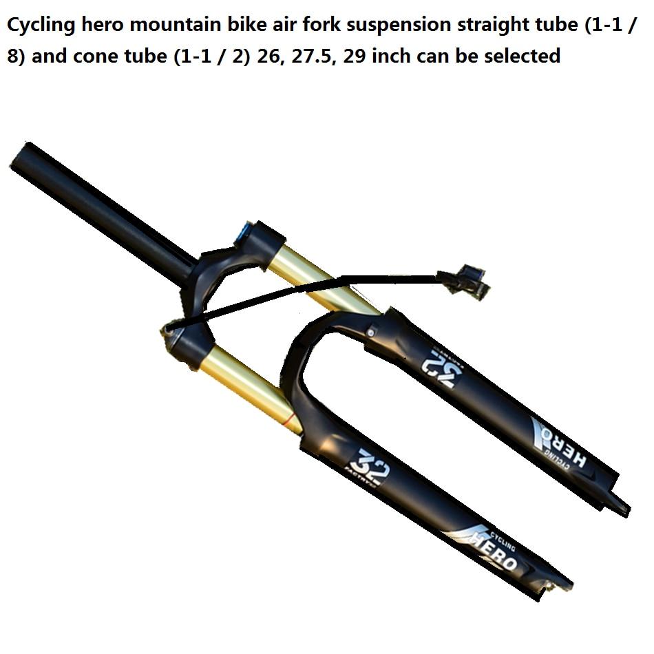 32mm Diameter MTB Air Suspension Fork Mountain Bike Plug 26 27.5 29 inchbike fork Stroke Can Choose Performance Beyond ROCKSHOX
