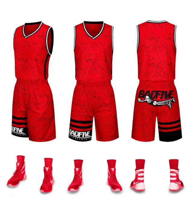 agasalho em branco basquete jérsei & shorts