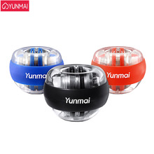 3 Colors Original Yunmai Wrist Ball Trainer LED Gyroball Essential Spinner Gyroscopic Forearm Exerciser Gyro Ball Decompression