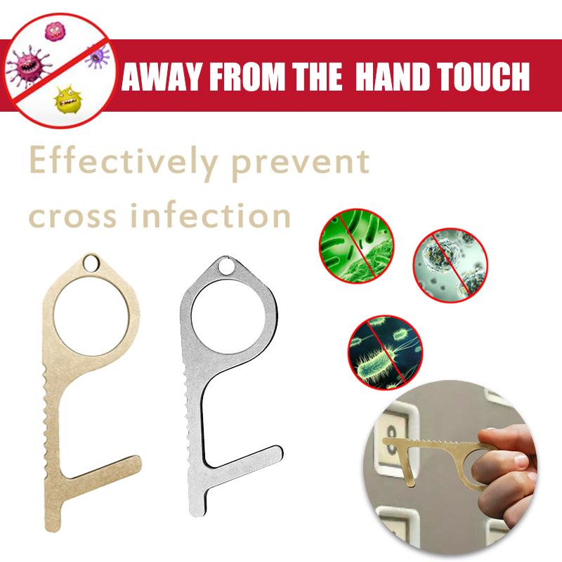 No Touch Open Door Portable Anti Elevator Button Drawer Key Door Opener Assistant Safety Contactless Tool Contact Prevention