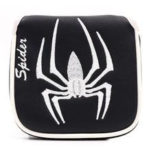 Молоток клюшки для гольфа головной убор из искусственной кожи паук дизайн головы крышка для клюшки