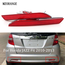 MZORANGE LED Tail Red Rear Bumper Reflector Light Lamp Stop Fog Brake Light For Honda JAZZ Fit 2010-2013 CRZ CRV Acura TSX все цены