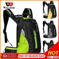 WEST BIKING-mochila de deporte para ciclismo, bolsa ultraligera resistente al agua, para Montañismo al aire libre, senderismo, escalada, viaje, 16L