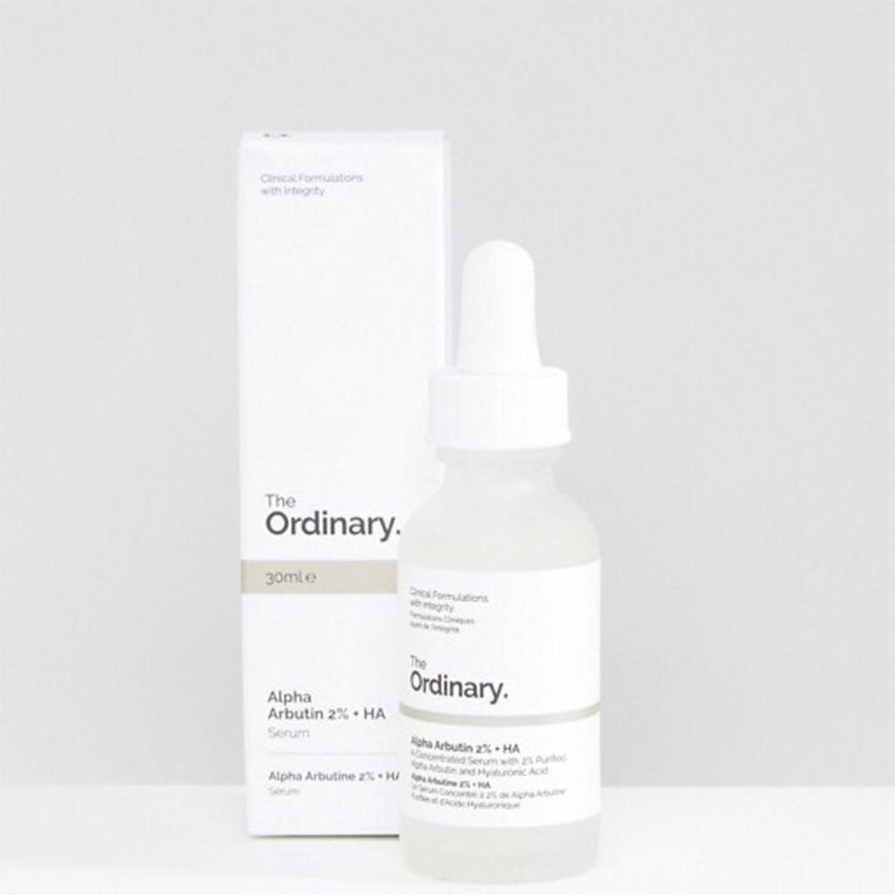 The Ordinary 30ml Serum Alpha Arbutin 2% +HA Serum Foundation Make Up Skin Care Makeup