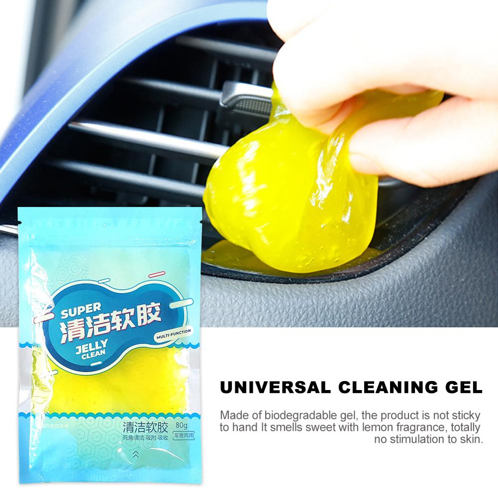 5 Stuks Auto Air Vent Cleaning Gel Dust Cleaning Fan Keyboard Pc Tablet Laptop Schoner Kantoor Cleaning Kit Ust Remover