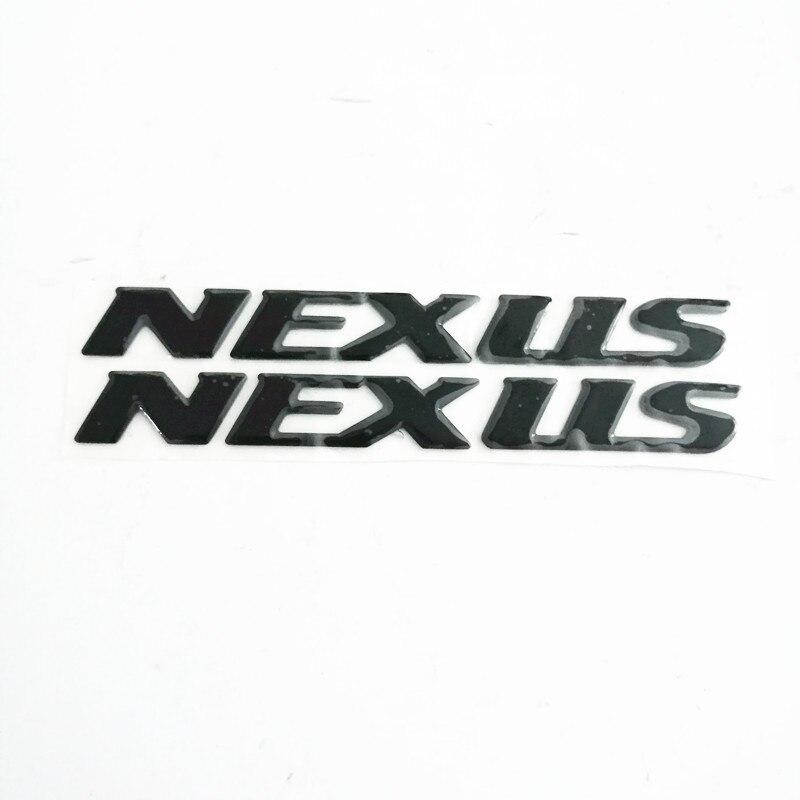 Motocicleta 3d levantar adesivos decalques emblema para