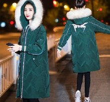 2019 Fashion Down Women Winter Coat Hooded Outwear Long Coat Warm Jacket Thickening Coats Plus Size