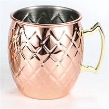 Медная чашка барабанная Коктейльная розетка из нержавеющей стали