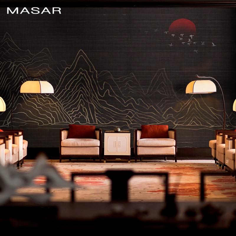 MASAR Original Art Custom Mural Simple Pure Color Wallpaper Corridor Sofa Background Wall Environmental Protection