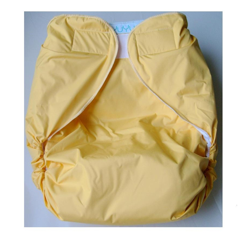 Free Shipping  FUUBUU2023-YELLOW-90-130CM  Adult Diaper/ Incontinence Pants/ Diaper Changing Mat/Adult Baby