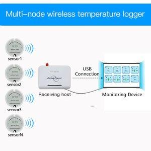 Image 5 - Sensore di Temperatura Senza Fili Trasmettitore di Temperatura Data Logger Senza Fili a Distanza di Controllo Della Temperatura per Il Congelatore 433/868/915Mhz