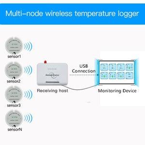 Image 5 - Wireless Temperature Sensor Transmitter Temperature Data Logger Remote Wireless Temperature Monitor for Freezer 433/868/915Mhz