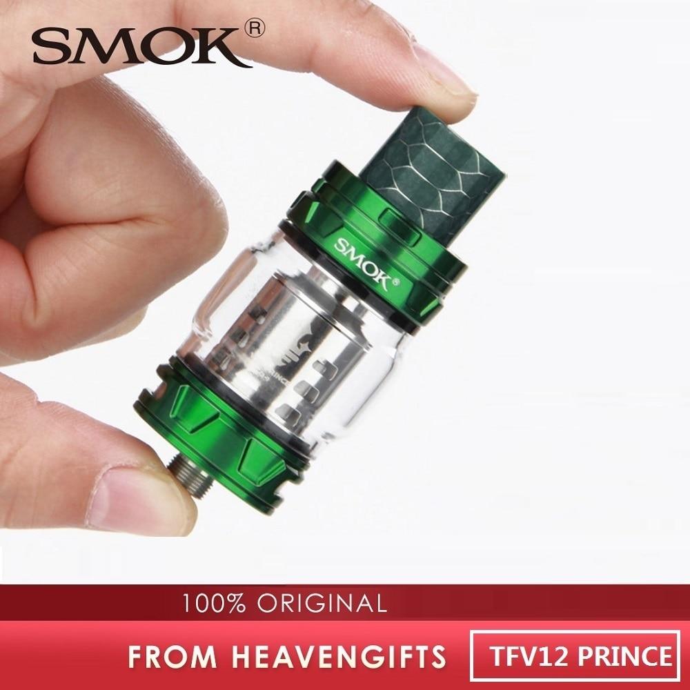Original TFV12 PRÍNCIPE Atomizador w/8 ml Capacidade de Enchimento Superior TFV12 TFV12 Príncipe Tanque VS SMOK Cigarro Eletrônico Atomizador /TFV16