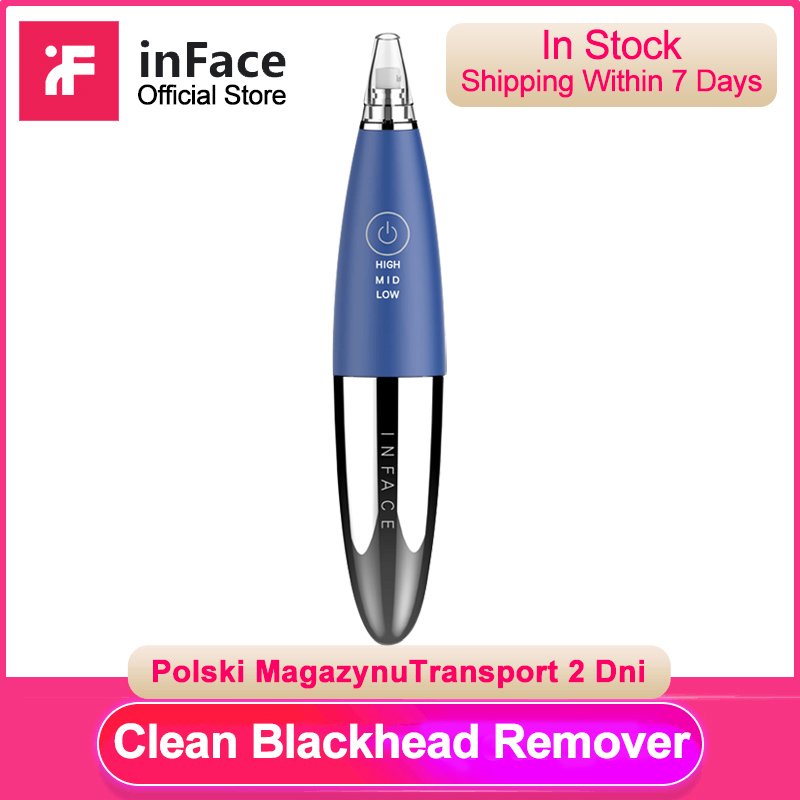 Inface In Stock Blackhead Removal Instrument Electric Deep Cleaning Facial Skin Care For Man And Women Xiaomi Supply Chain