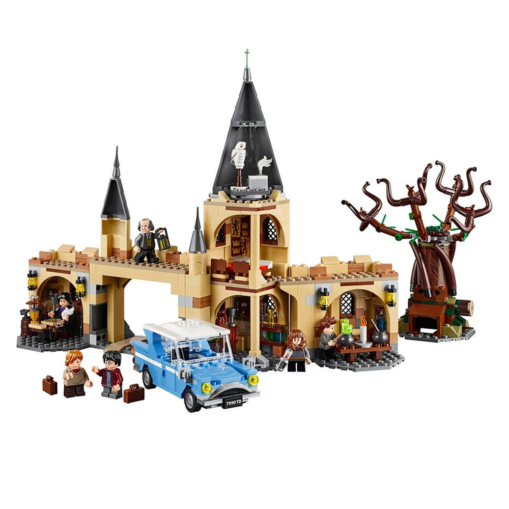 New Legoinglys City Castle Whomping Willow Compatible  Movie Potter 75953 Building Blocks Bricks Toys Kids Gifts for Christmas