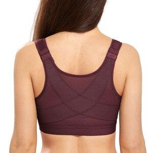 Image 1 - Phụ Nữ Đầy Đủ Độ Phủ Trước Đóng Cửa Dây Miễn Phí Không Đệm Hỗ Trợ Lưng Áo Ngực
