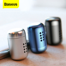 цена на Baseus Mini Aromatherapy Car Phone Holder Air Freshener Fragrance For Car Air Vent Diffuser Air Purifier Solid Perfume Freshener
