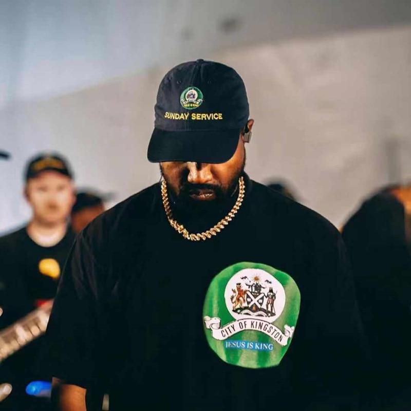Jesus is King Kanye West Sunday Service Baseball Caps  2