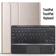 Ttrackpad Keyboard Case untuk Samsung Galaxy Tab S4 S5e S6 Lite Touchpad Keyboard Case Cove Bluetooth Keyboard T830 T720 T860 p610(China)