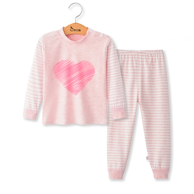 Toddler girls sleepwear pajamas baby boys winter cotton sets children homewear for boy pyjamas kids nightwear 2-6t kids clothes