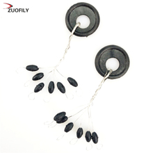 Hot Sale 10 Group 60pcs Tackle Resistance Space Not To Hurt The Line V