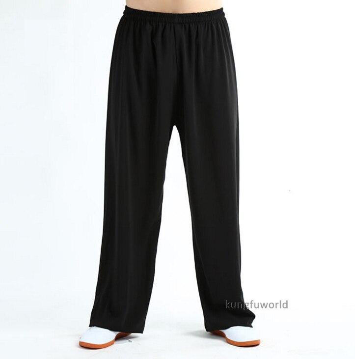 Komfortable Sommer Kung fu Tai chi Hosen Wushu kampfkunst Hosen Flügel Chun Shaolin Kleidung