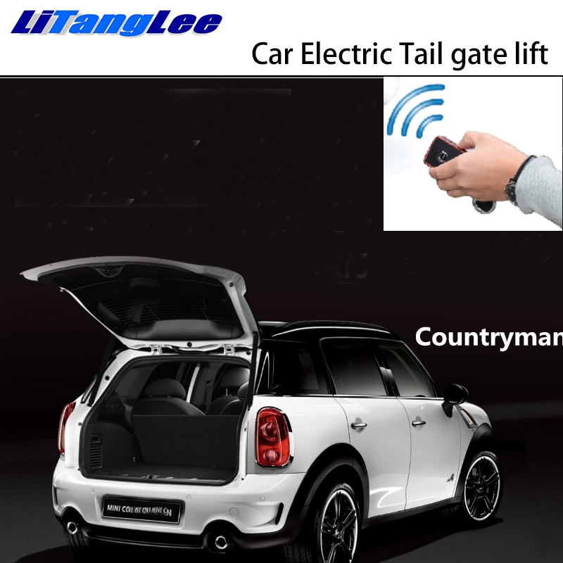 LiTangLee Car Electric Tail Gate Lift Trunk Rear Door Assist System For Mini Countryman Cooper Clubman F55 F60 F56 Remote