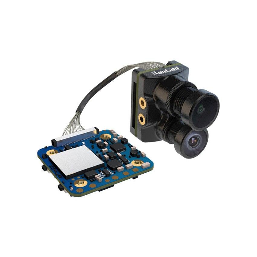 RunCam híbrido doble lente gran angular 4K HD Mini FPV cámara HD grabación FOV 145 grados 8MP Sensor para FPV Racing Drone