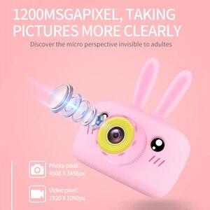 Image 3 - الأطفال كاميرا صغيرة محمولة كاميرا رقمية 1080P الإسقاط كاميرا فيديو 2 بوصة شاشة عرض الاطفال ألعاب تعليمية الطفل هدية