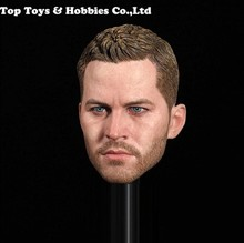 цена на GACTOYS GC028 1:6 Paul Walker Male Head Sculpt Carving 1/6 Scale male head For 12 inches Body Figures toys acc