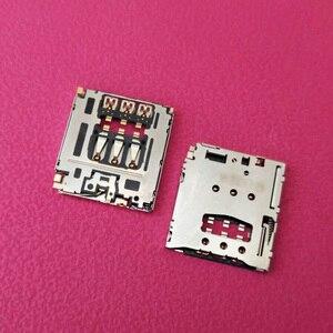 10 шт./лот разъем для считывателя слотов для SIM-карты Разъем для Asus Zenpad 8,0 Z380KL Z380C P024 P022
